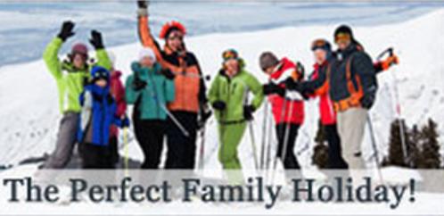 Family Ski Package Banner