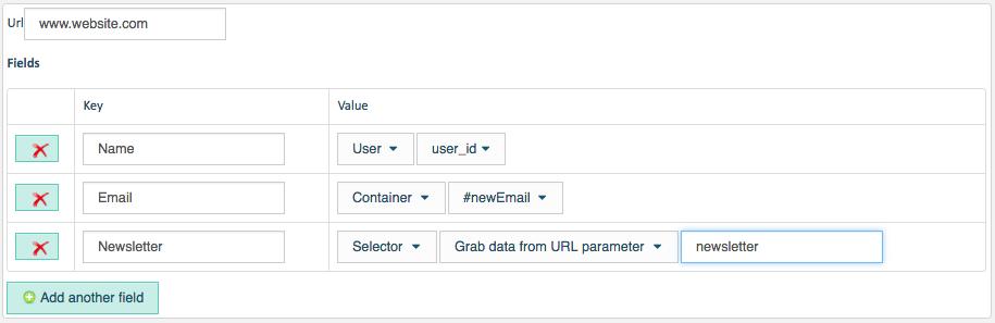 webhook personalization