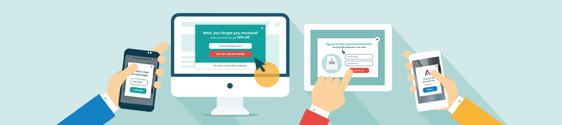 Manage Targeted Pop-ups and Banners Across Platforms and Devices