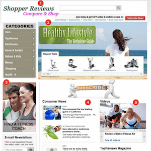 CONTENT WEBSITE PERSONALIZATION EXAMPLE