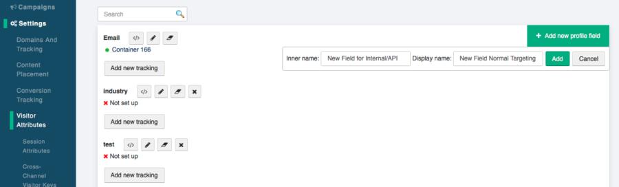 ABM personalization