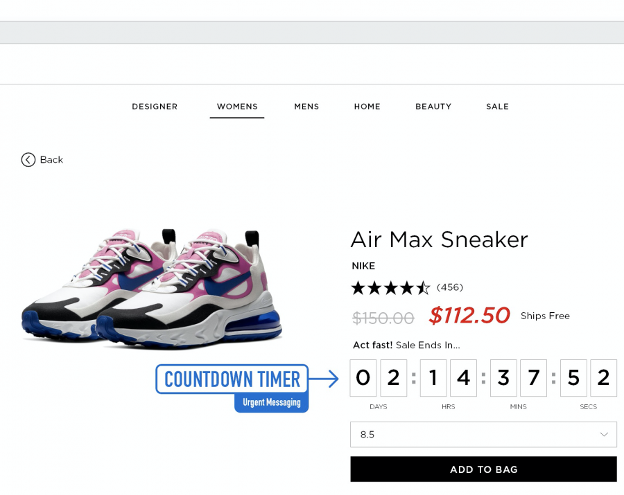 SOCIAL PROOF & URGENT MESSAGING FOR ECOMMERCE
