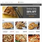 RESTAURANT WEBSITE EMBEDDED MAP PERSONALIZATION EXAMPLE
